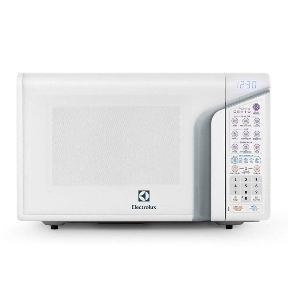 12fa60ea2 Micro-ondas Electrolux Ponto Certo 31 Litros Branco 127V