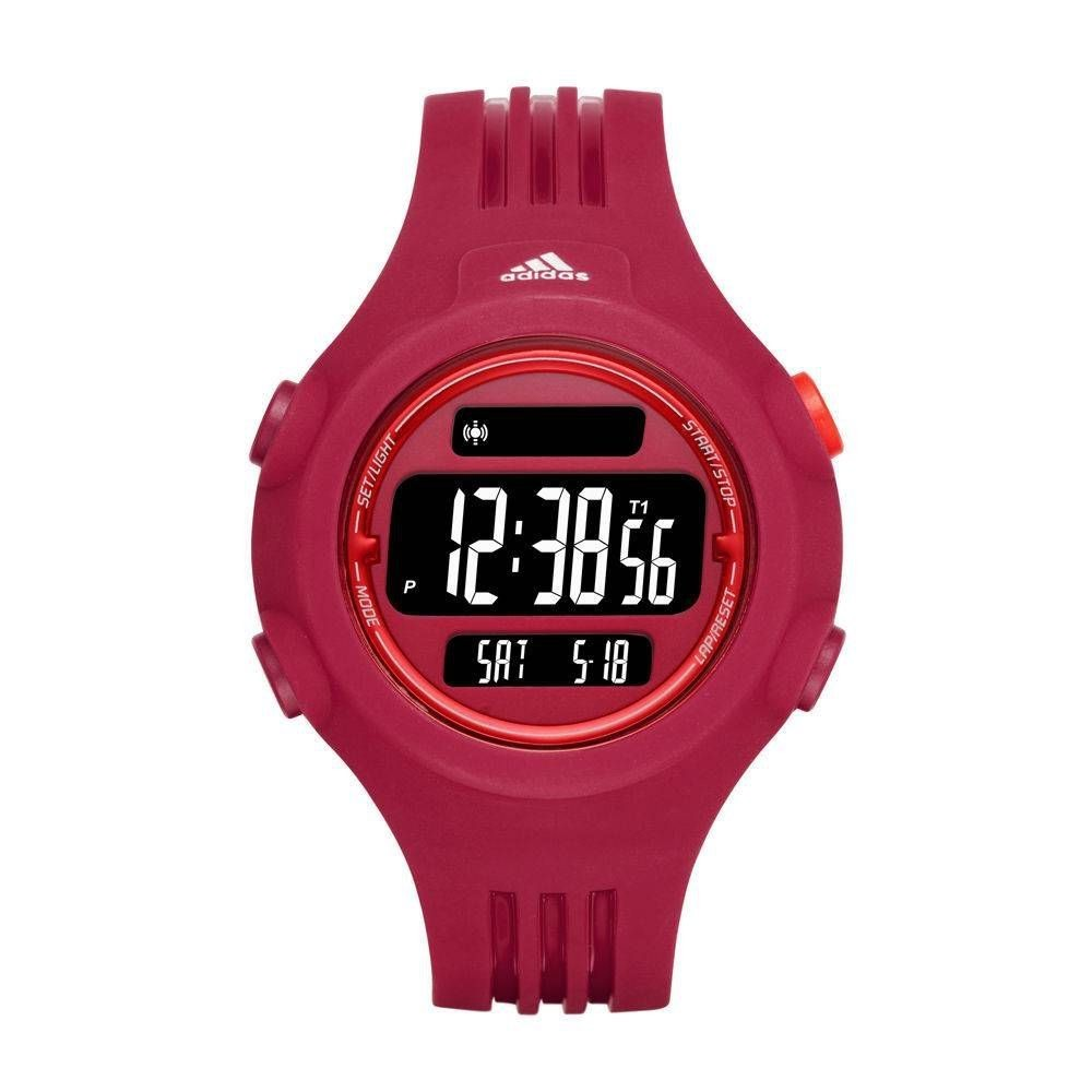 17b2905ad08 Relógio Feminino Digital Rosa Adidas Esportivo Adp3284-8pn