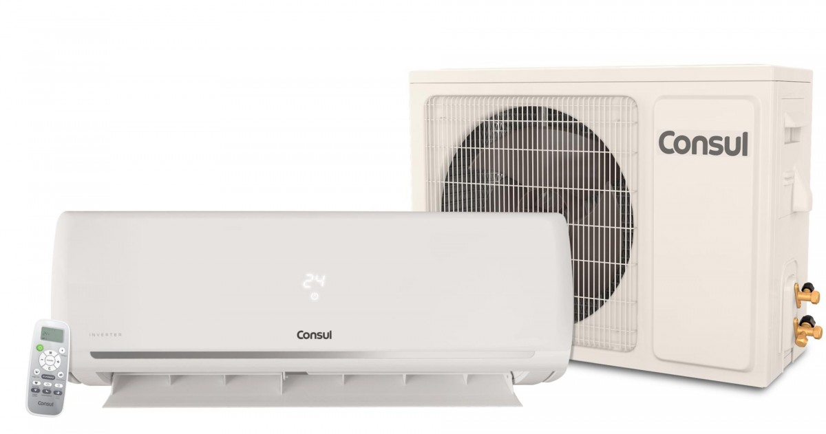 ead3bff74 Ar Condicionado Split Inverter 9000 BTUs Consul Frio 220v CBG09DB