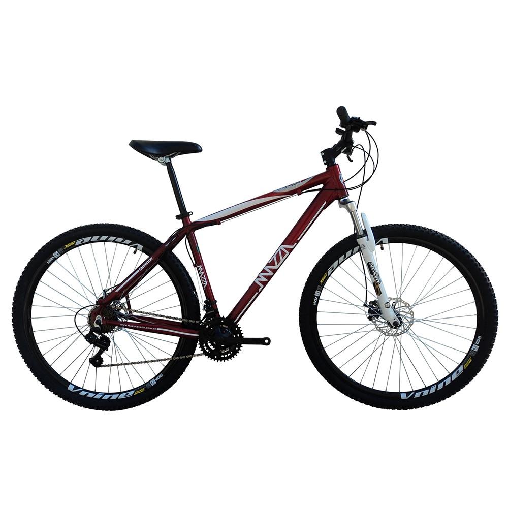 Bicicleta Mazza Fire 112 Disc H T19 Aro 29 Susp. Dianteira 27 Marchas - Vermelho
