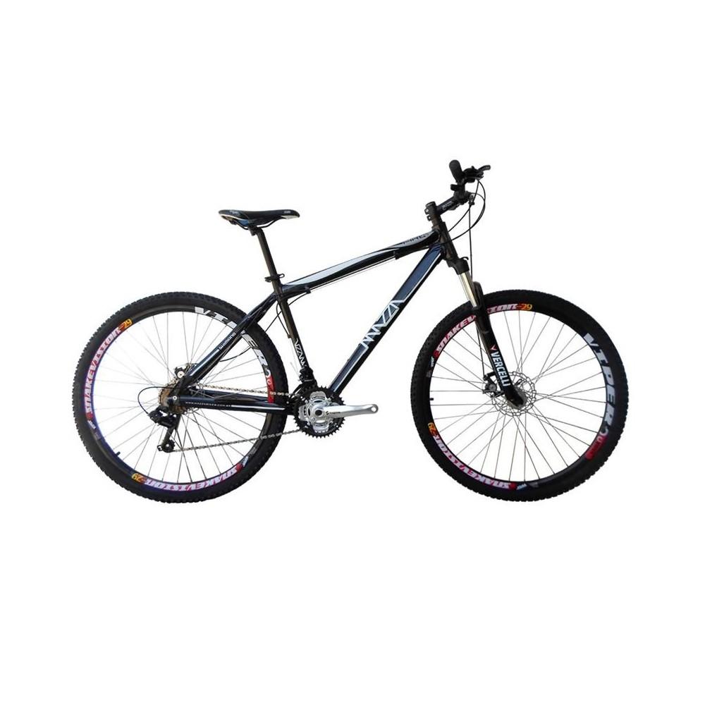 Bicicleta Mazza Fire 112 Disc H T21 Aro 29 Susp. Dianteira 30 Marchas - Preto