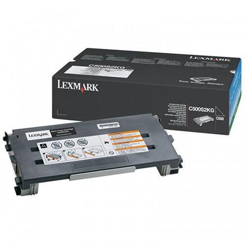 Toner Lexmark Preto C500s2kg