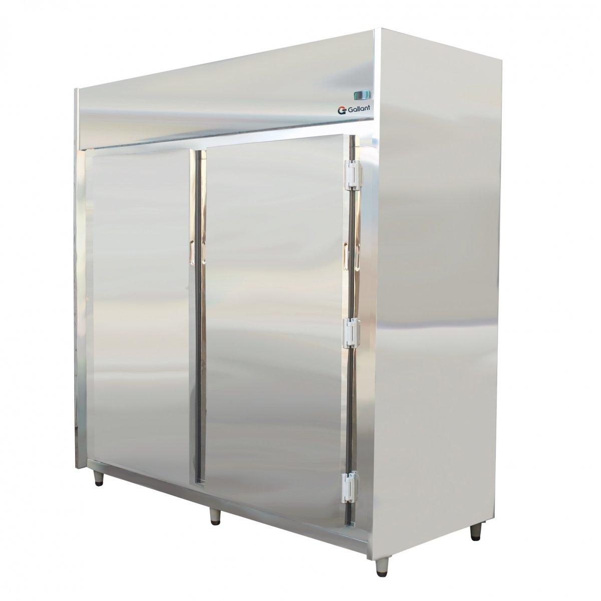 Geladeira A Ougue Com Gancheira Em Inox 600 Kg 2 Portas 220v Mono