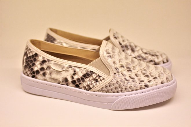 Imagem - Slip on Couros do Valleh 203002  Python - 2000000120300220000587