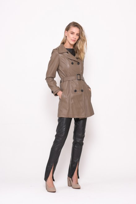 Imagem - Trench Coat Lilly Couros do Valleh1 19030s # - 2000002319030S20000097