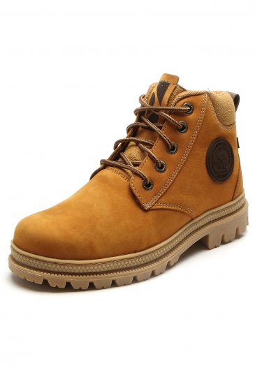 Bota Macboot Amarela Adventure NobucK ARENITO 02