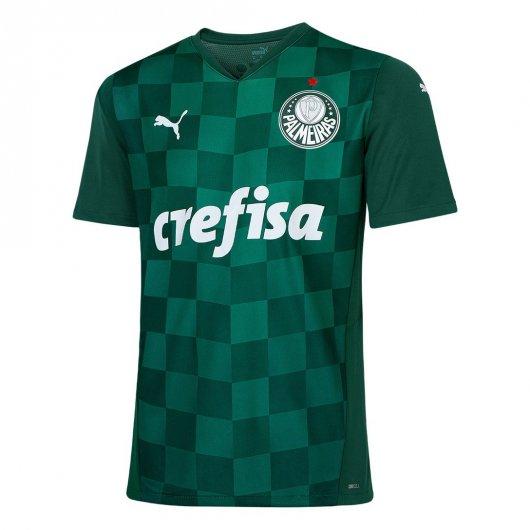 Camiseta Palmeiras 20/21 masculina sem numero verde