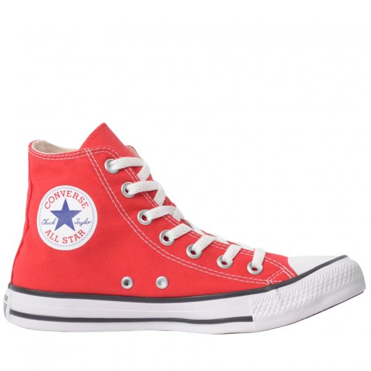 Tenis botinha vermelho All Star-converse Ct00040004