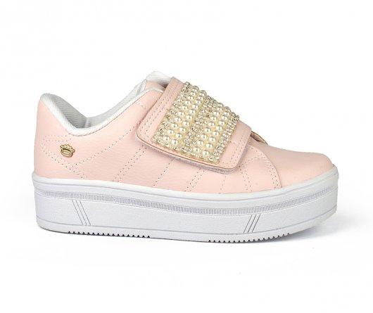 Tenis infantil feminino Pink Cats V0422