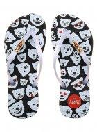 Imagem - Chinelo Coca Cola Bear Emoji 020.cc2449 cód: 591702