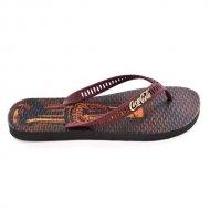 Imagem - Chinelo Coca-Cola Shoes CC2573 Preto Bordô Masculino cód: 592273
