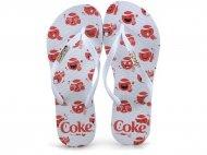 Imagem - Chinelo feminino Coca Cola funny emojis 020.cc2518 cód: 598172