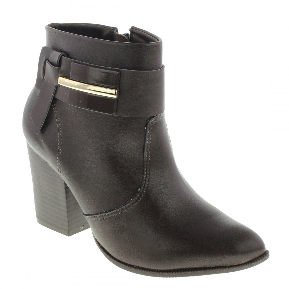 9f067d3059 Bota Ramarim 1816103 Ankle Boot