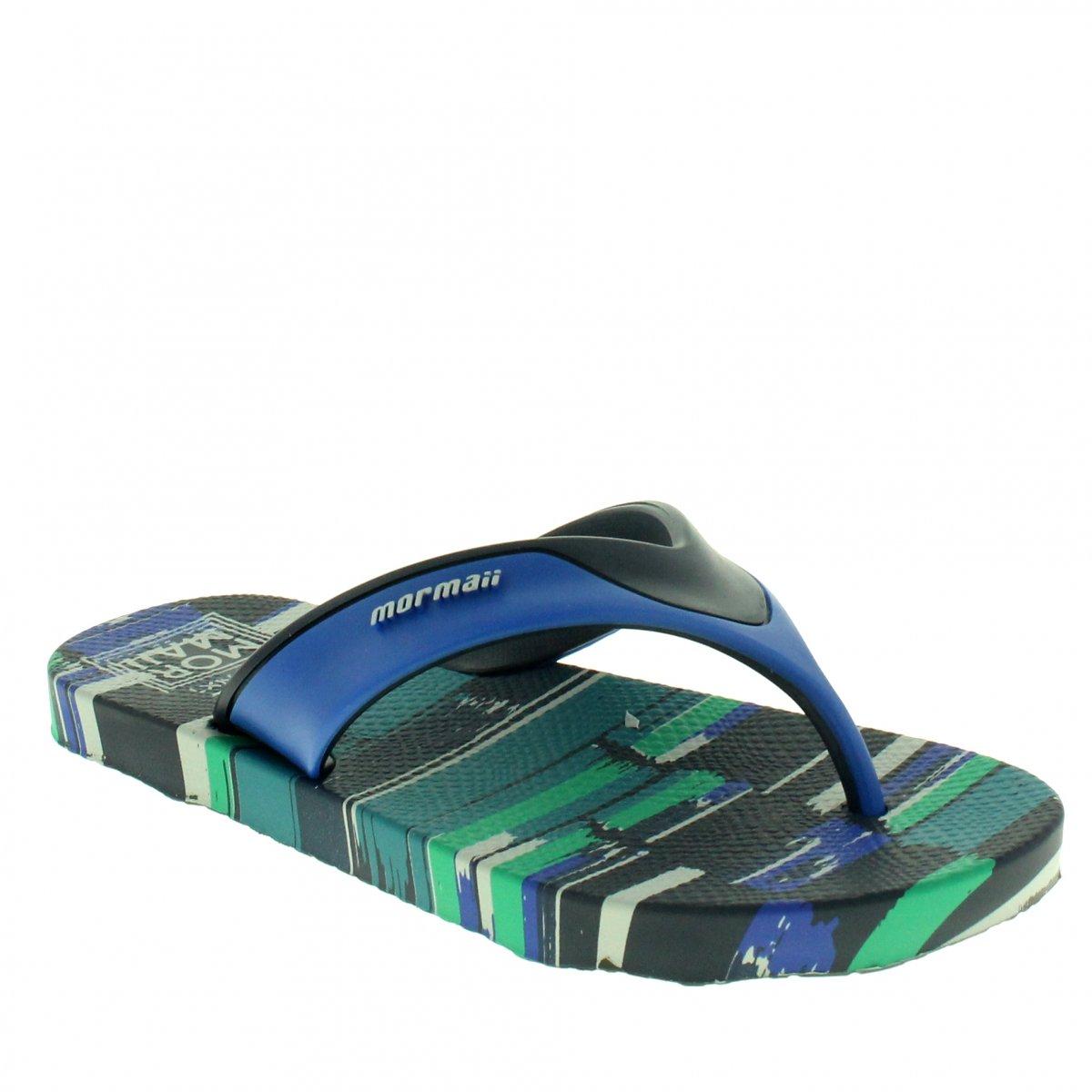325a6403e Chinelo Mormaii Neocycle 10897 | Azul/azul | Coutope