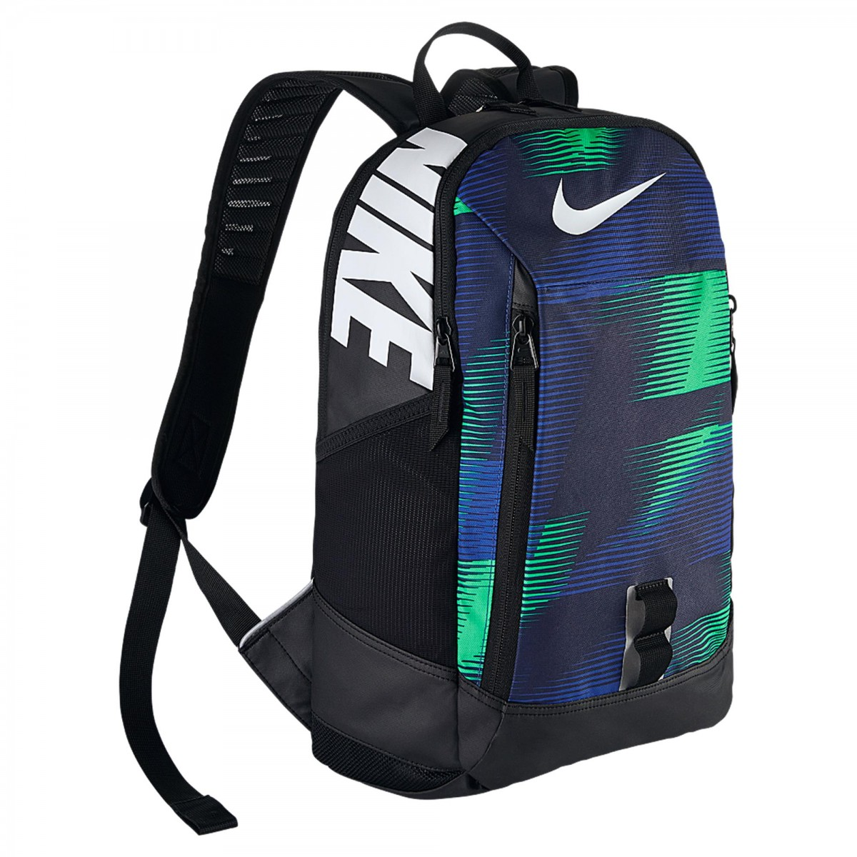 02cc9da77b7ce Mochila Nike Alph Adpt Rse   Preto/verde   Coutope