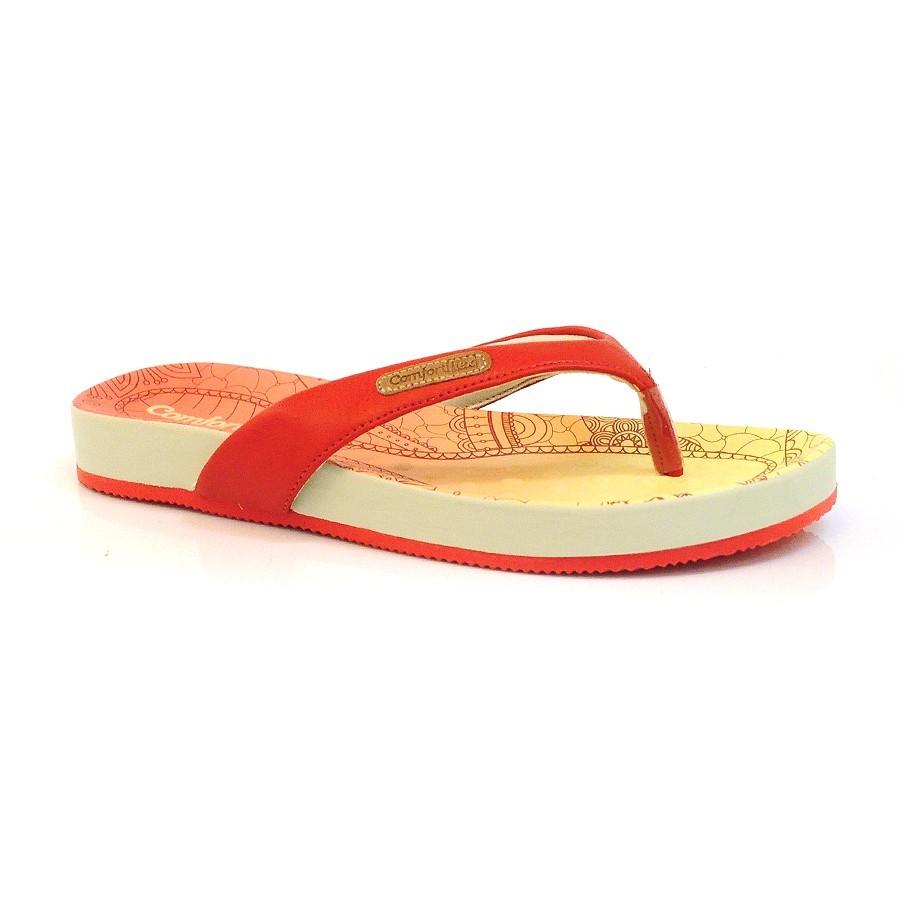 836f601b66 Rasteira sandalia chinelo Comfortflex feminina conforto