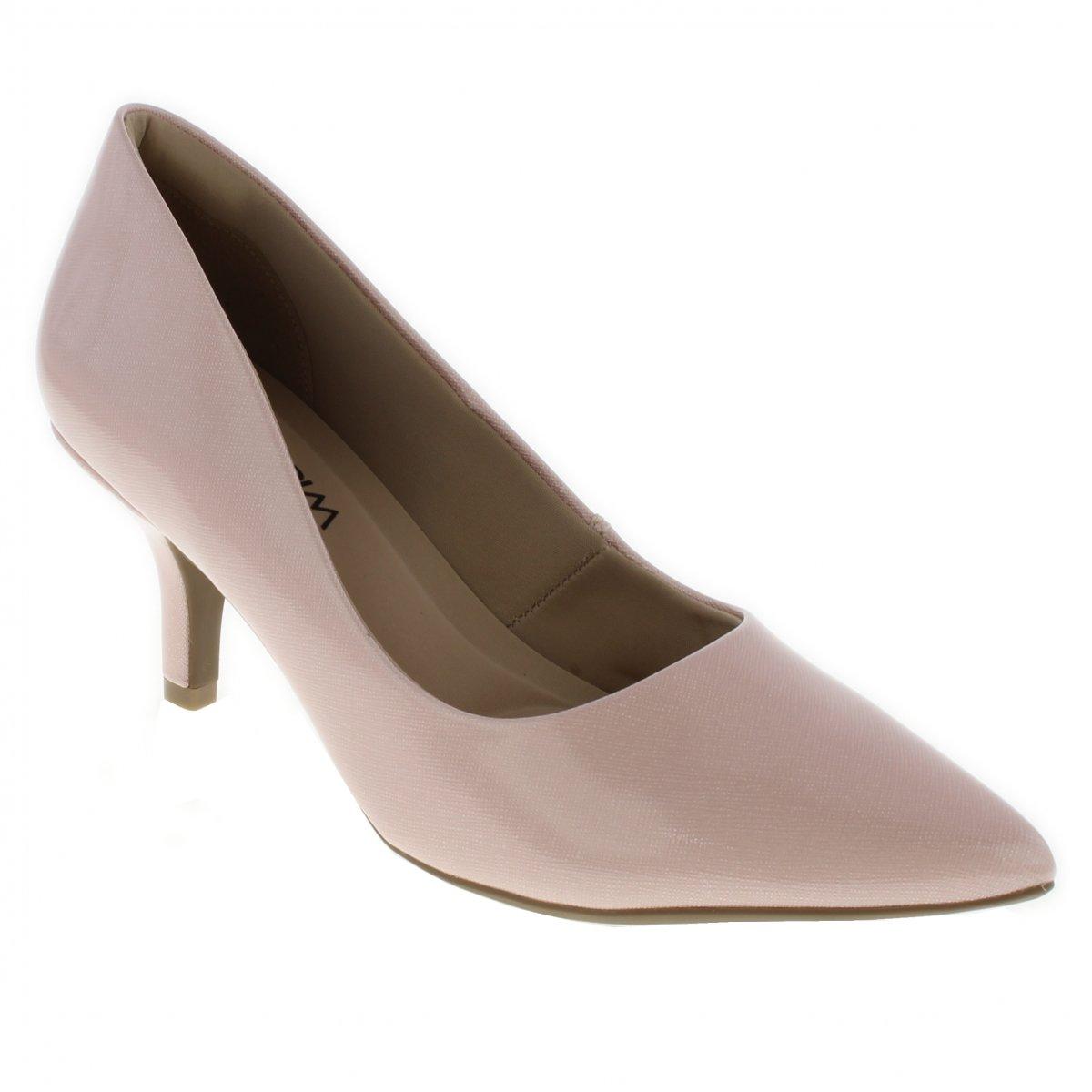 8fd18608f Sapato Scarpin Ramarim 1726201 | Bege | Coutope