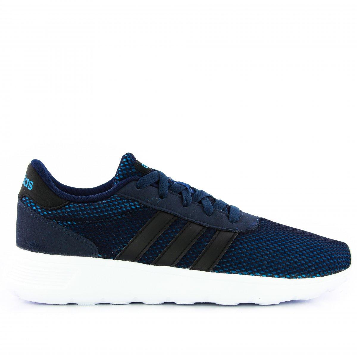 864436b44 Tenis Adidas Lite Racer | Azul Marinho/preto | Coutope