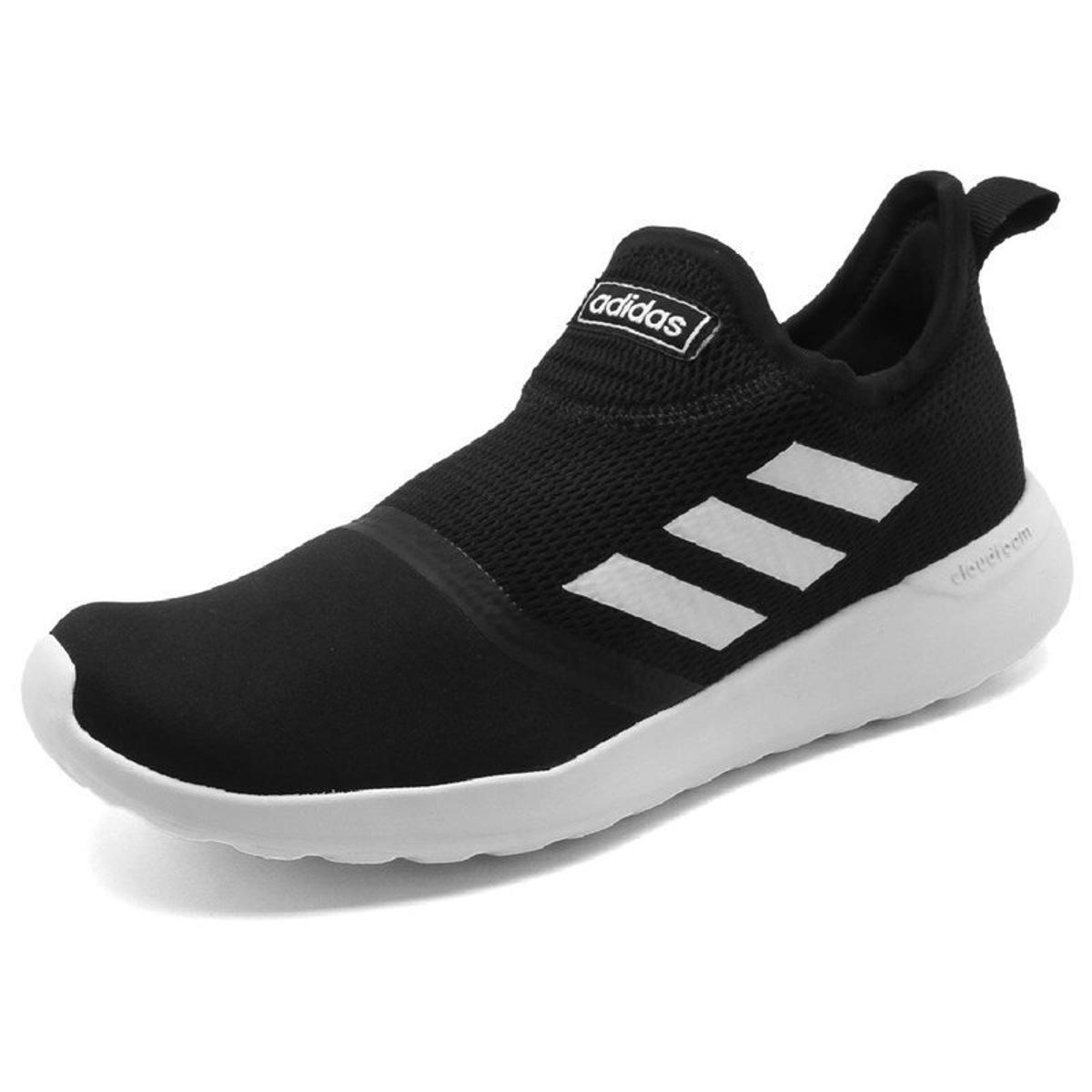 0287be359 Tenis Adidas Lite Racer Slipon | Preto/branco | Coutope