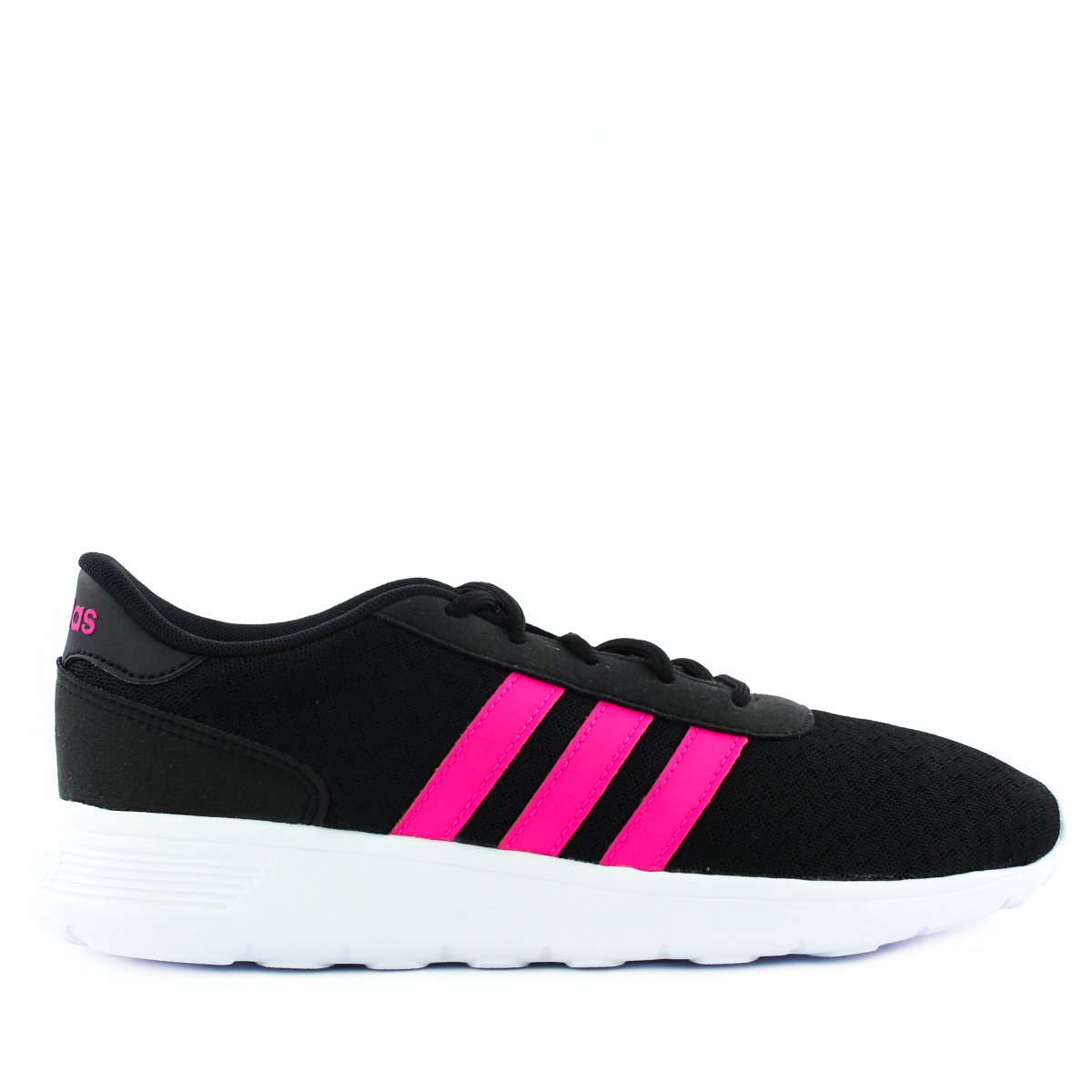 55c5241ae9e8a Tenis Adidas Lite Racer w Bb9835 | Preto/pink | Coutope