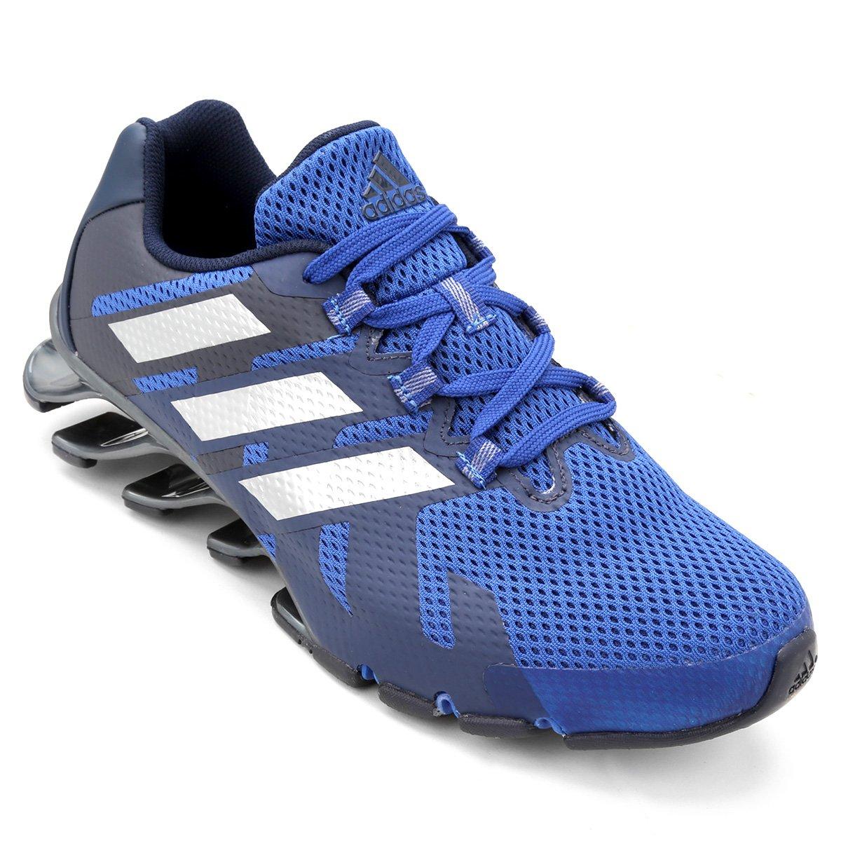 c5bd815fcc490 Tenis Adidas Springblade Eforce m | Azul Marinho/azul | Coutope
