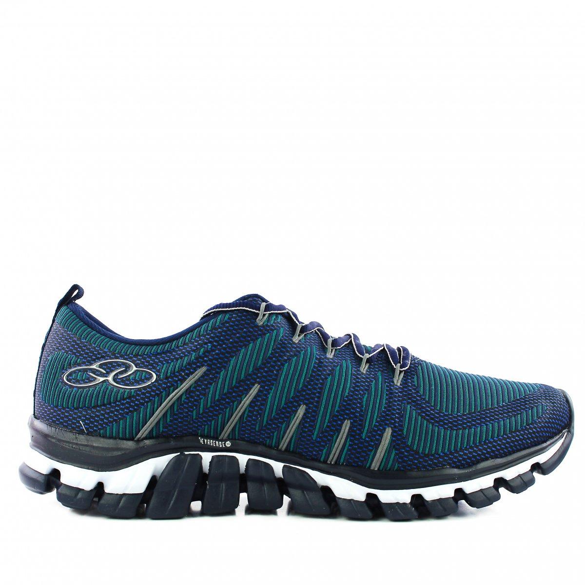 5d7ef9bc58 Tenis Olympikus Style / 298   Azul Marinho/verde   Coutope
