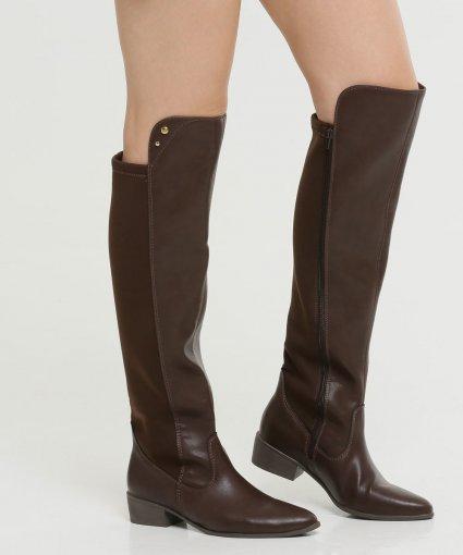 Bota Over The Knee Via Marte Feminino 19-204
