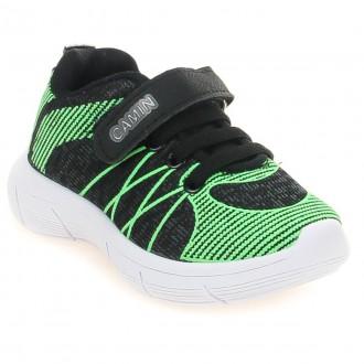 Imagem - Tenis Jogging Camin Infantil Masculino 2155-105 cód: 4001152155-105153