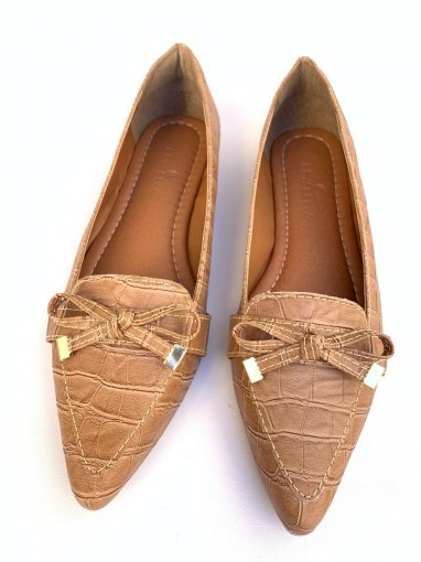 MOCASSIM CROCO ANTIQUE