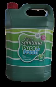 Imagem - Agua Sanitária com Cloro (5 litros) - Pure Fresh