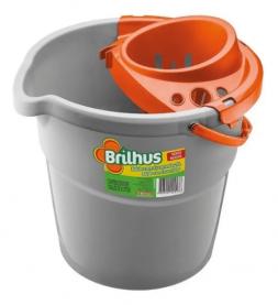 Imagem - Balde Brilhus com Escorredor (9L) - Bettanin Super Pro