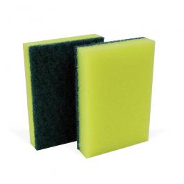 Imagem - Esponja Verde/Amarelo (10und) - Nobre