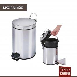 Imagem - Lixeira Inox com Pedal (12l) - BeneCasa