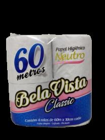 Imagem - Papel Higiênico Classic (60m) - Bela Vista