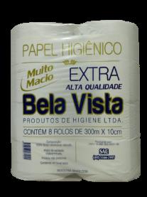 Imagem - Papel Higiênico Extra (300m x 30cm) - Bela Vista