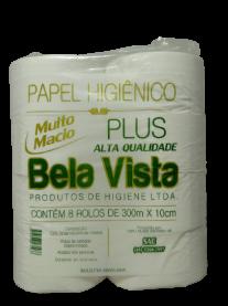 Imagem - Papel Higiênico Plus (300m x 30cm) - Bela Vista