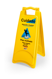 Imagem - Placa Sinalizadora Piso Molhado ( 1 und) - Bettanin SuperPro