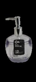 Imagem - Porta Álcool Gel/ Sabonete Translucido (1und) - Coza