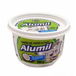 Imagem - Sabão de Coco em Pasta (500g) - Alumil