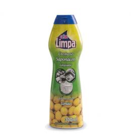Imagem - Saponáceo Cremoso Limão (300ml) - Gota Limpa