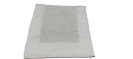 Imagem - Tapate para Banheiro Cotton Branco(50cm x 80cm) - Kapazi