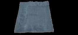 Imagem - Tapete para Banheiro Cotton Cinza (50cm x 80cm) - Kapazi