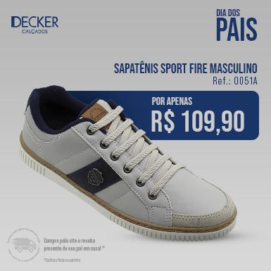 Sapatênis Sport Fire Masculino 385x385