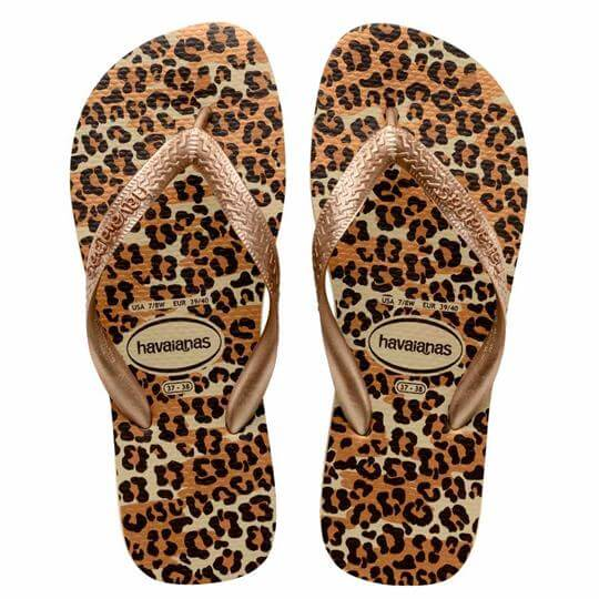 Chinelo Havaianas Top Animals Feminino