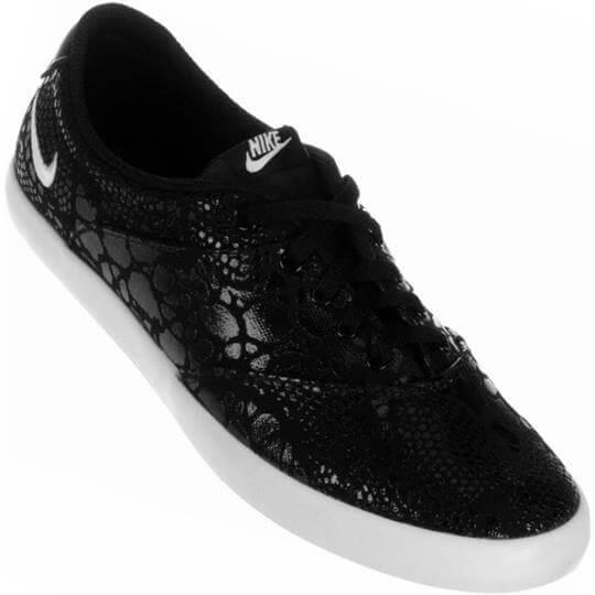 Tênis Nike Mini Sneaker Lace Print Casual Feminino