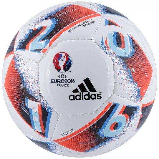 Bola Adidas Euro Copa França 2016 Sala 5X5 Futsal