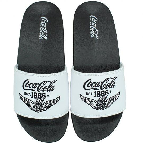 Chinelo Coca Cola Wings Slide Masculino