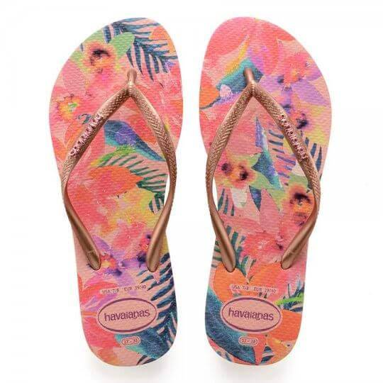 Chinelo Havaianas Slim Tropical Feminino
