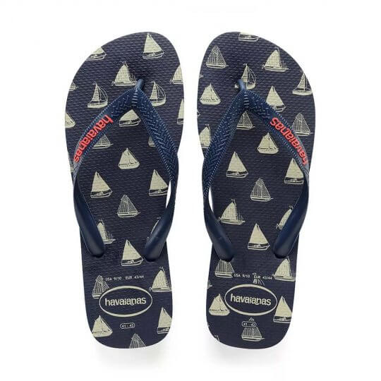 13f7a392ae Chinelo Havaianas Top Nautical Masculino - Decker Online!
