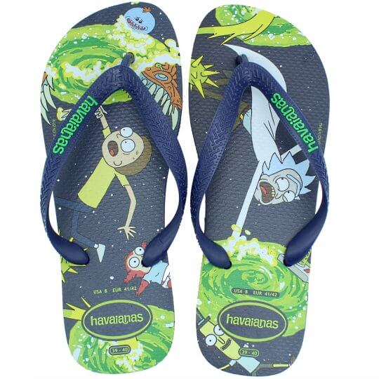 Chinelo Havaianas Top Rick And Morty Masculino